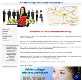 Personaldienstleistung Job4you Solingen von SEO GRECO