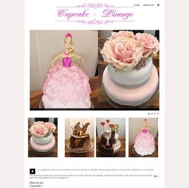 Cupcake-Lounge Webseite erstellt von SEO GRECO