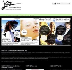 Webseite lez Friseure von SEO GRECO